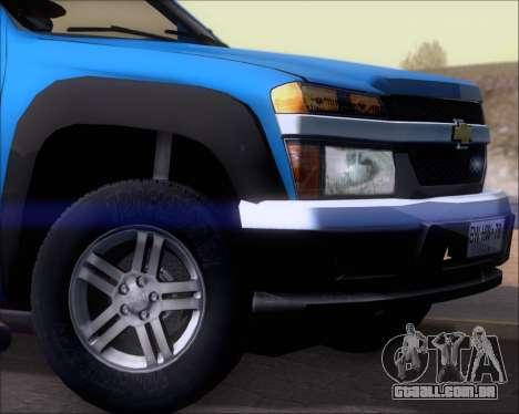 Chevrolet Colorado para o motor de GTA San Andreas