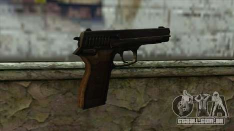 TheCrazyGamer Bernardelli P18 para GTA San Andreas segunda tela