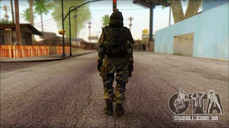 Soldados da UE (AVA) v1 para GTA San Andreas segunda tela