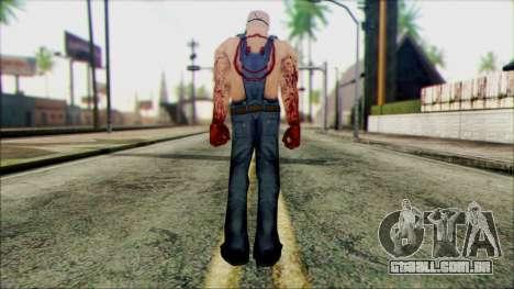 Manhunt Ped 15 para GTA San Andreas segunda tela