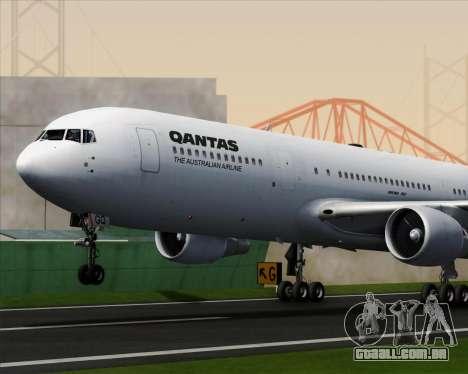 Boeing 767-300ER Qantas para o motor de GTA San Andreas