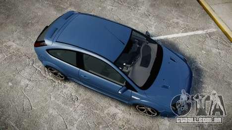 Ford Focus ST 2005 Rieger Edition para GTA 4 vista direita