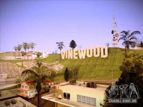 Novo ENBSeries por MC_Dogg para GTA San Andreas segunda tela