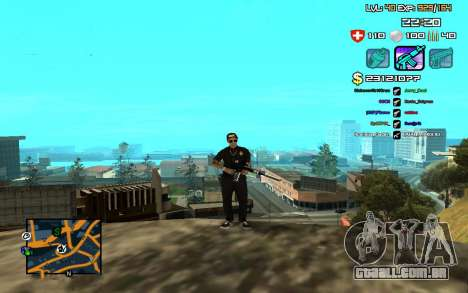 C-HUD by SampHack v.12 para GTA San Andreas