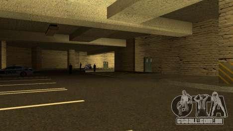 Novas texturas parque de Estacionamento da LSPD para GTA San Andreas terceira tela