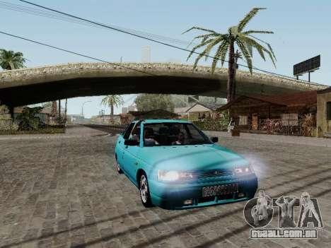 VAZ 2110 para vista lateral GTA San Andreas