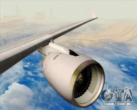 Airbus A330-200 American Airlines para o motor de GTA San Andreas