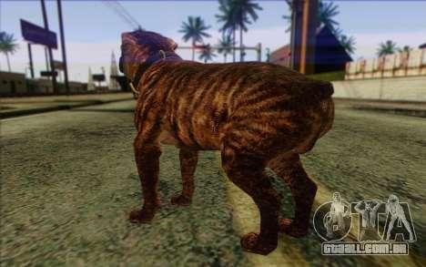 Rottweiler from GTA 5 Skin 1 para GTA San Andreas segunda tela