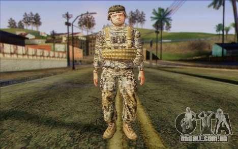 Soldados do Exército dos EUA (ArmA II) 1 para GTA San Andreas