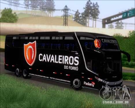 Marcopolo Paradiso G7 1600LD Scania K420 para GTA San Andreas esquerda vista