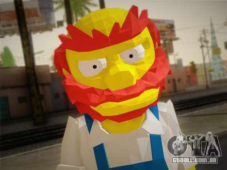 O Zelador Willy De Os Simpsons: Road Rage) para GTA San Andreas terceira tela