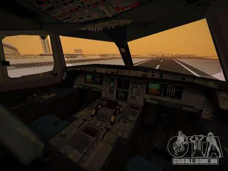 Airbus A380-800 Emirates Rugby World Cup para GTA San Andreas