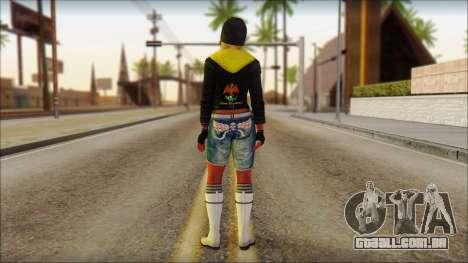 Hola Chola para GTA San Andreas segunda tela