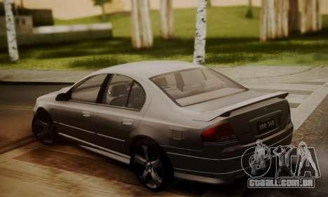 Ford Falcon XR8 para GTA San Andreas esquerda vista