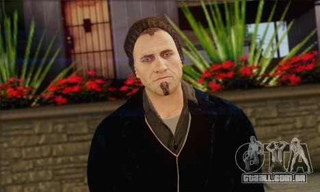 Damien from Watch Dogs para GTA San Andreas terceira tela