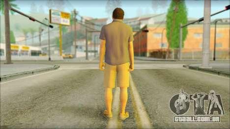 Michael De Santa para GTA San Andreas segunda tela