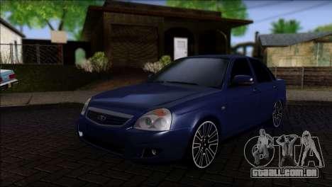 Lada 2170 Priora Black Atack para GTA San Andreas