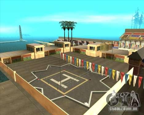 Sky Road Merdeka para GTA San Andreas quinto tela