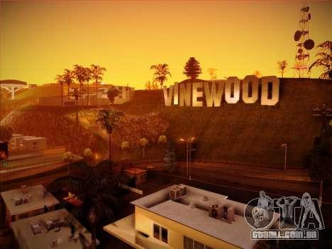 Novo ENBSeries por MC_Dogg para GTA San Andreas terceira tela