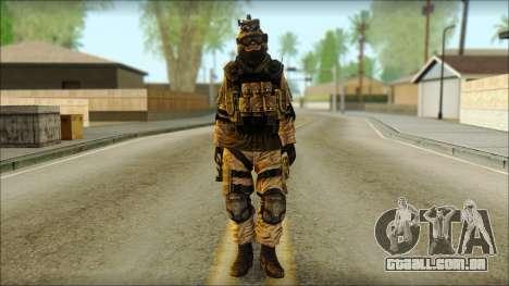 Mercenário (SC: Blacklist) v3 para GTA San Andreas