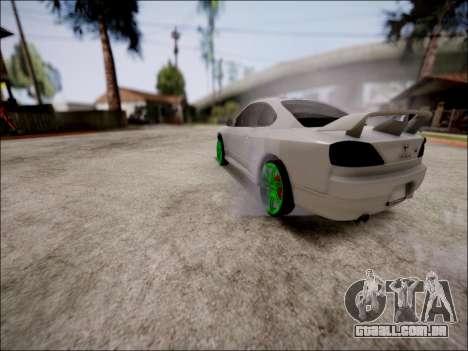 Nissan Silvia S15 para vista lateral GTA San Andreas