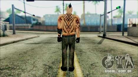 Manhunt Ped 16 para GTA San Andreas segunda tela