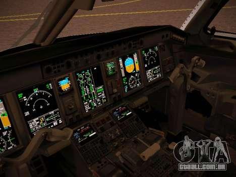 Embraer E190 Azul Brazilian Airlines para GTA San Andreas vista superior