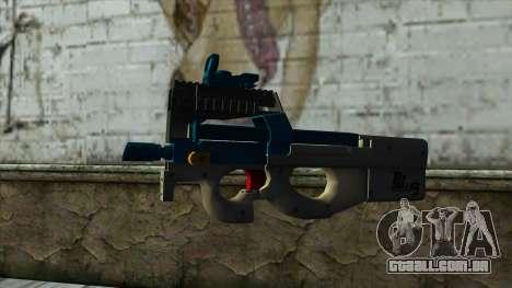 P90 from PointBlank v5 para GTA San Andreas