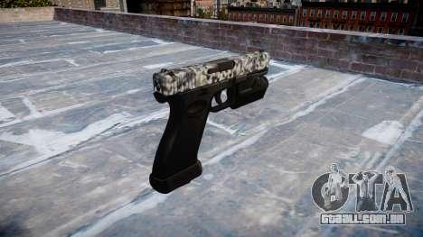 Pistola Glock de 20 de diamante para GTA 4 segundo screenshot