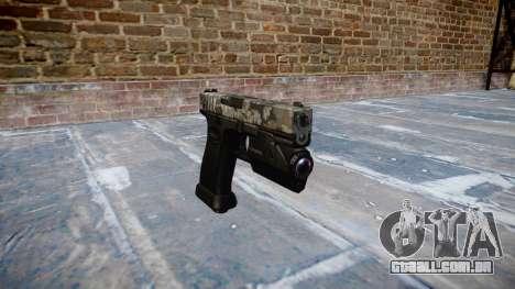 Pistola Glock de 20 ghotex para GTA 4