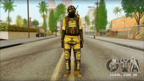Mercenário (SC: Blacklist) v1 para GTA San Andreas