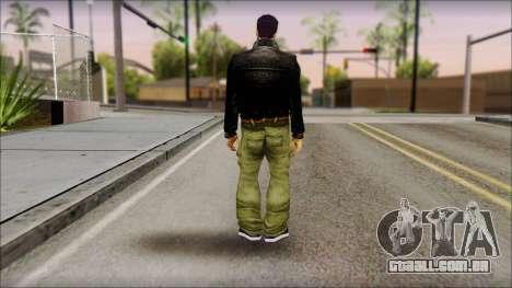 Shades Claude v1 para GTA San Andreas segunda tela