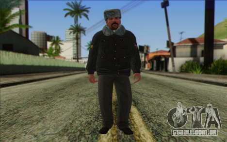 A polícia da Rússia Pele 2 para GTA San Andreas