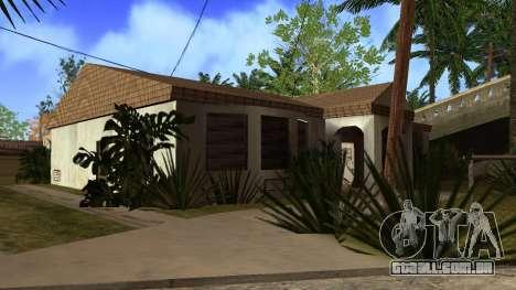 Novas texturas HD casas na grove street v2 para GTA San Andreas décimo tela