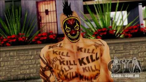 Manhunt Ped 16 para GTA San Andreas terceira tela