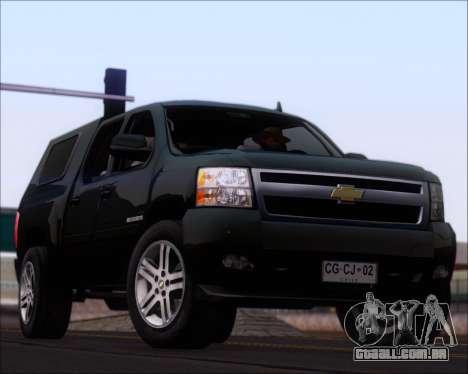 Chevrolet Silverado 2011 para GTA San Andreas interior