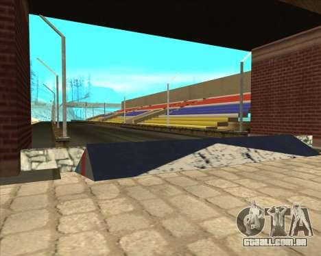 Sky Road Merdeka para GTA San Andreas segunda tela