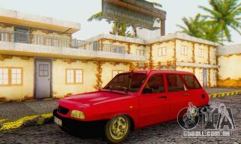 Dacia 1310 Break WUC para GTA San Andreas traseira esquerda vista