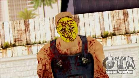Manhunt Ped 15 para GTA San Andreas terceira tela