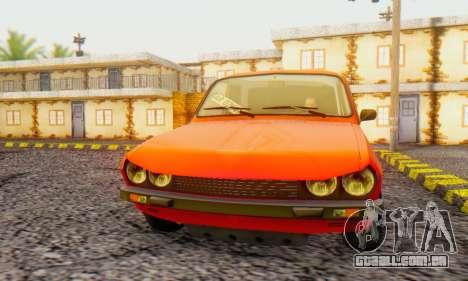 Dacia 1300 Tuned para GTA San Andreas esquerda vista