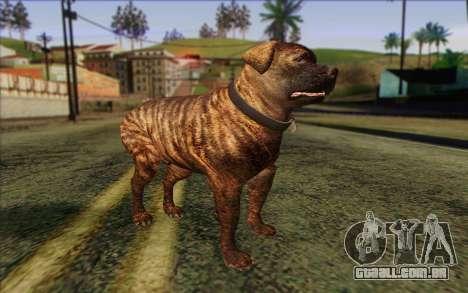 Rottweiler from GTA 5 Skin 1 para GTA San Andreas