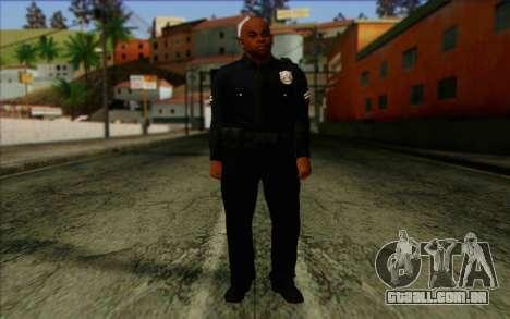 Polícia (GTA 5) Pele 3 para GTA San Andreas