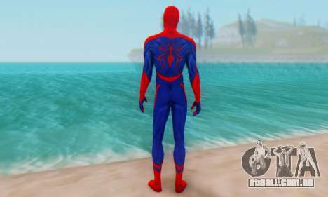 Skin The Amazing Spider Man 2 - Nueva Era para GTA San Andreas terceira tela