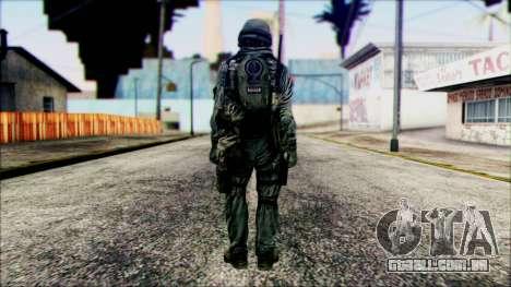 Lutador (PLA), v5 para GTA San Andreas segunda tela