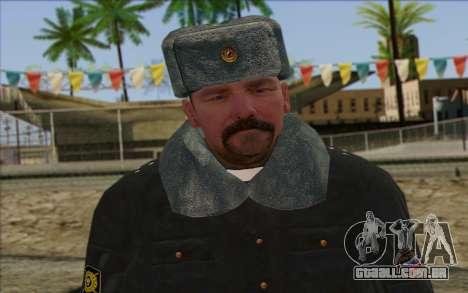 A polícia da Rússia Pele 2 para GTA San Andreas terceira tela