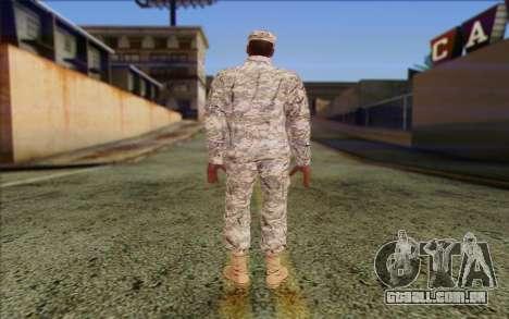 California National Guard Skin 5 para GTA San Andreas segunda tela