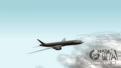 Boeing 777-280ER Asiana Airlines para GTA San Andreas esquerda vista