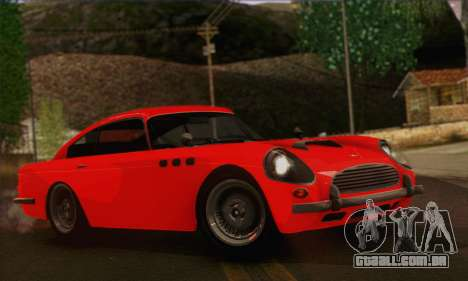 DewBauchee JB-700 1.0 (IVF) para GTA San Andreas traseira esquerda vista