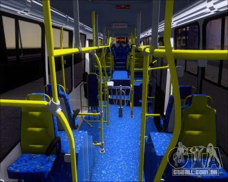 Caio Millennium II Volksbus 17-240 para GTA San Andreas vista interior
