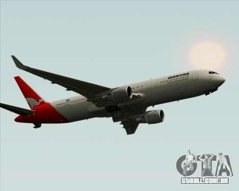 Boeing 767-300ER Qantas para GTA San Andreas vista direita
